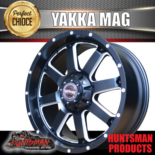 "20x9, +35 Offset ""Yakka"" Mag Wheel 6/139.7 pcd"