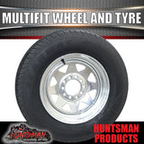 "13"" galvanised multi fit steel Wheel &155R13C Tyre: suits Ht/Ford"