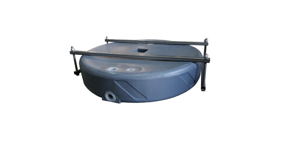 53 LITRE SPARE WHEEL WATER TANK