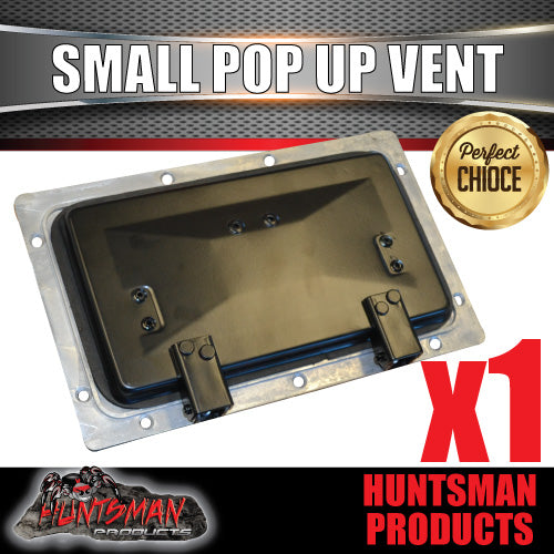 X1 Small black pop up ROOF AIR VENTS