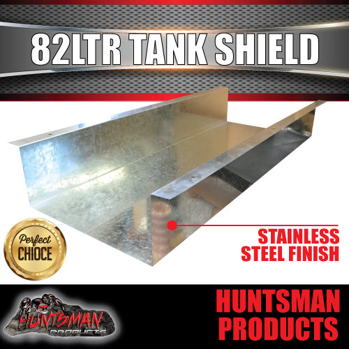 Galvanised 82 Litre Underbody Water Tank Shield
