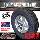"15"" Ford pattern Bullet Alloy Wheel & 235/75R15 LT Tyre. 235 75 15"