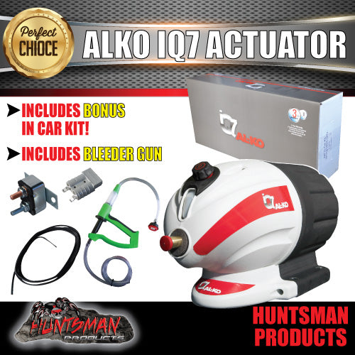 Alko Electric Hydraulic IQ7 Actuator + Bonus Wiring Kit & Bleeder Gun!!
