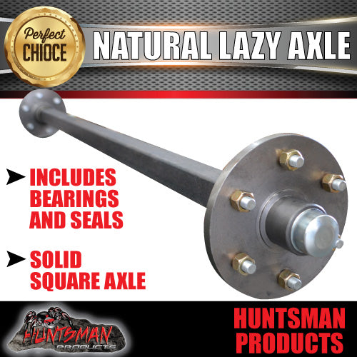 Lazy Trailer Axle 40mm Square Complete 81-96