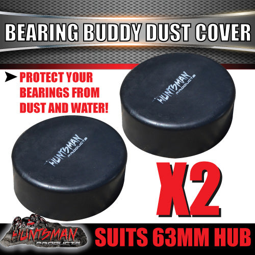 x2 Bearing Buddy 63mm Replacement Cap