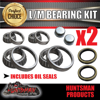 X2 LM HOLDEN SIZE TRAILER BEARING KITS