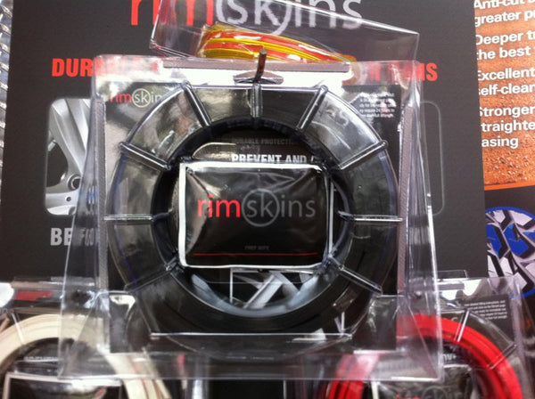 "RIMSKINS-4X BLACK 20"" DUABLE PROTECTION FOR YOU RIMS-MAGS COVERS WHEEL DAMAGE"