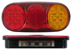 Pair BR203 Roadvision Combination Light + Number Plate