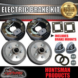 "10"" 5 Stud Trailer Electric Drum Brake Kit"