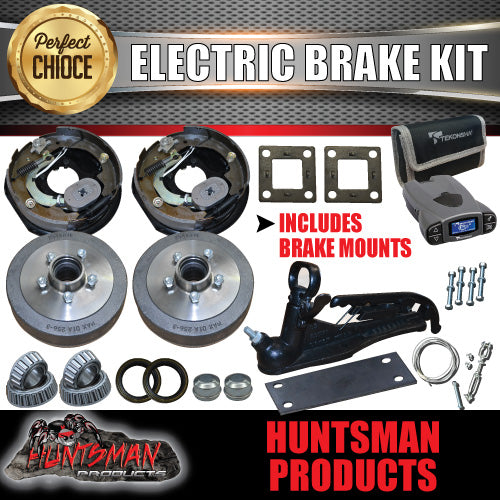 "10"" Trailer Electric Brake Kit inc Coupling Kit & P3 Controller."
