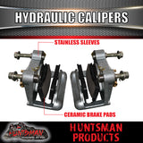 HYDRAULIC DISC TRAILER BRAKE KIT 5 STUD SUITS LANDCRUISER PATTERN