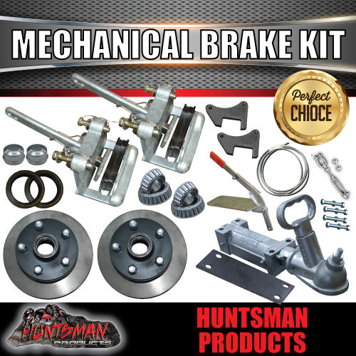 Mechanical Disc Brake & Coupling Kit. Natural Discs