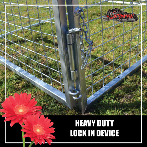 TRAILER CAGE 6X4X3FT.  FULLY GALVANISED. BOX TUBING!
