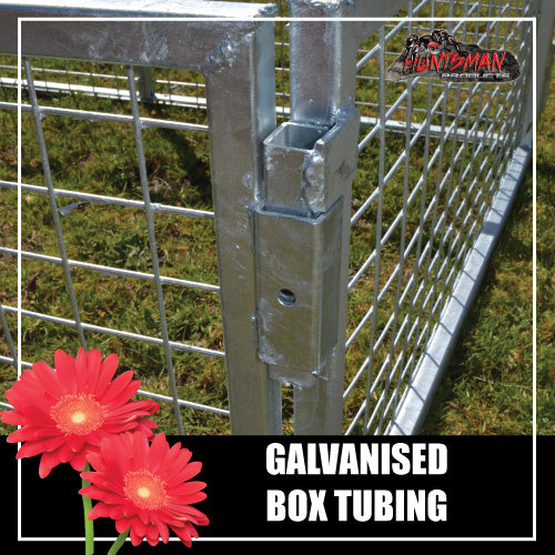 TRAILER CAGE 7X4X2FT.  FULLY GALVANISED. BOX TUBING!
