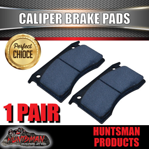 2x BOAT TRAILER MECHANICAL OR HYDRAULIC CALIPER DISC BRAKE PADS.
