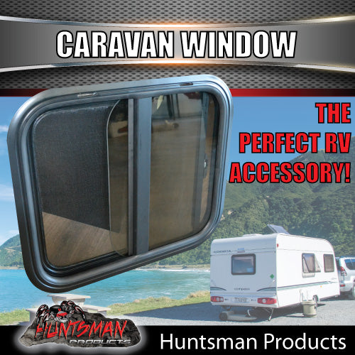 600mm x 500mm Caravan Sliding Window