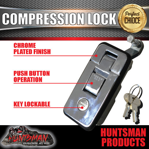 X4 Smalll Chrome Compression Locks