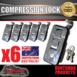 X6 Small Chrome Compression Locks