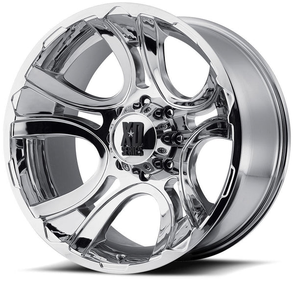 KMC XD801 CRANK 18X9 Chrome Alloy Mag Wheel JEEP Patrol BT50 Triton etc