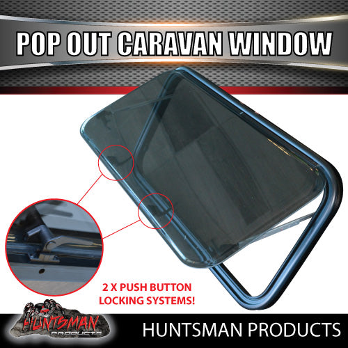 1100mm x 450mm Caravan Push Out Window