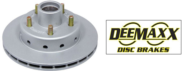 "x1 Deemaxx 10.2"" Ford Integral Replacement Ventilated 1 Piece Disc. Maxx Coated"