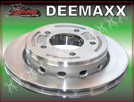 "x1 Deemaxx 10.9"" Stainless Steel 304 HT Holden Replacement Ventilated Slip Over Disc"