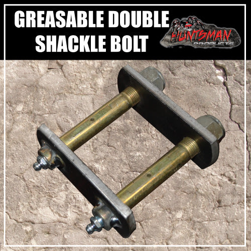 DOUBLE GREASABLE TRAILER SHACKLES
