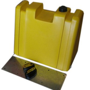 60 LITRE UPRIGHT DIESEL TANK WITH MOUNT KIT