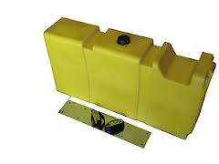 80 LITRE LONG DIESEL TANK WITH MOUNT KIT.  DPRV80L-MK