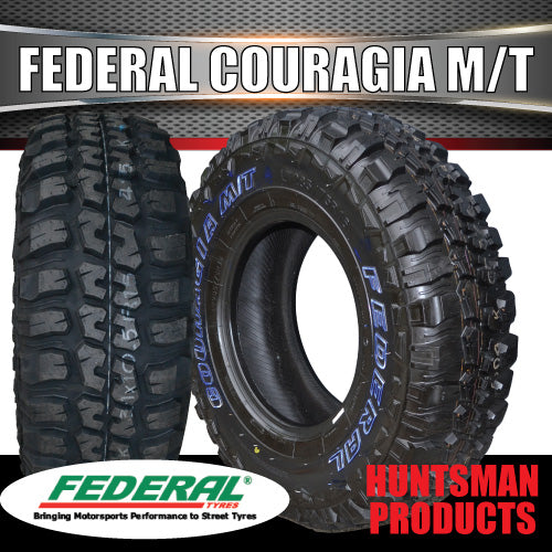 285/75R16 L/T FEDERAL COURAGIA MUD TYRE. 285 75 16