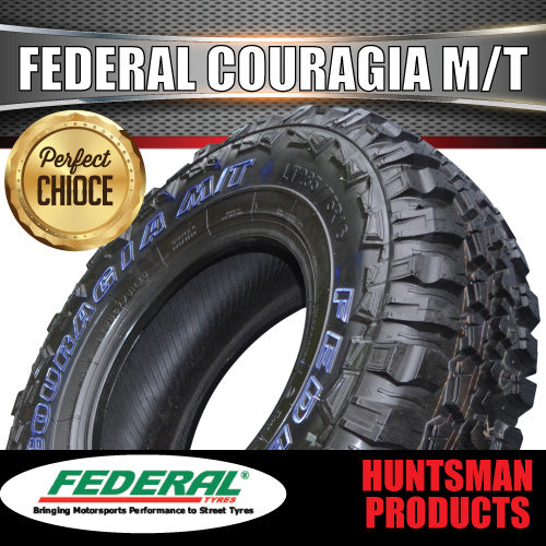 30X9.5R15 L/T FEDERAL COURAGIA MUD TYRE. 30 9.5 15