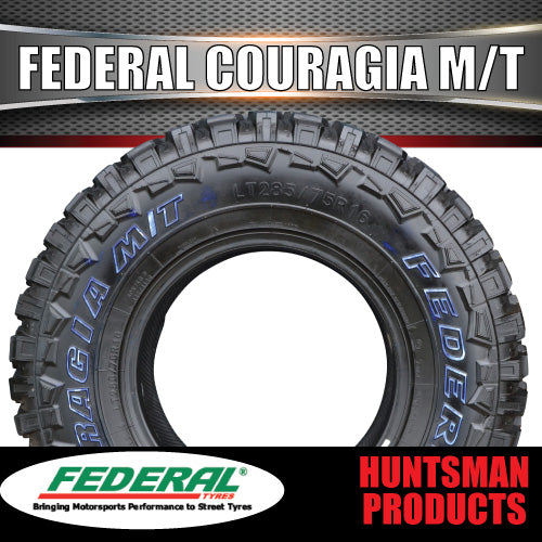 33X12.5R15L/T FEDERAL COURAGIA MUD TYRE. 33 12.5 15