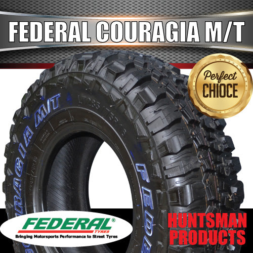 35x12.5R20 L/T FEDERAL COURAGIA MUD TYRE