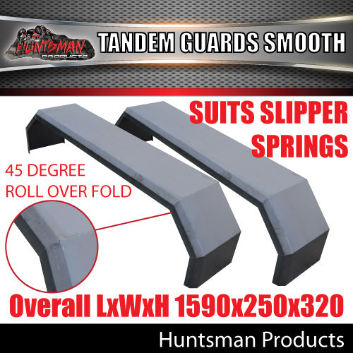 TRAILER GUARDS- TANDEM- SMOOTH- SLIPPER SPRINGS
