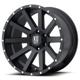 KMC XD818 HEIST 18x8 +35 Satin Black Alloy Mag Wheel. Nissan D40 JEEP Pathfinder