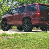 KMC XD818 HEIST 17x8 +35 Satin Black Milled Alloy Mag Wheel. Amarok JEEP