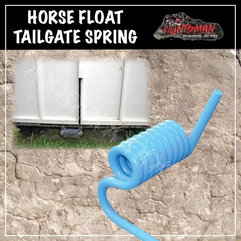 Pair Horse Float Plant Trailer Tail gate Springs. Rubber Coated