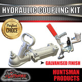 OVERRIDE COUPLING WITH 7/8'' MASTER CYLINDER & BRACKET