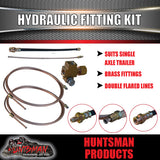 Single Axle Trailer Hydraulic Brake Fitting Kit.
