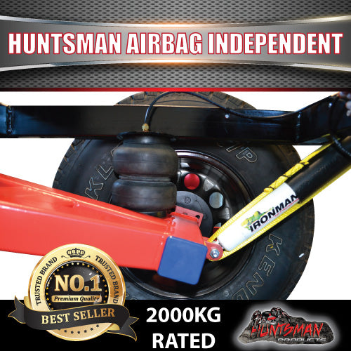 2000KG Off road Camper Trailer Caravan Air Bag Independent Suspension