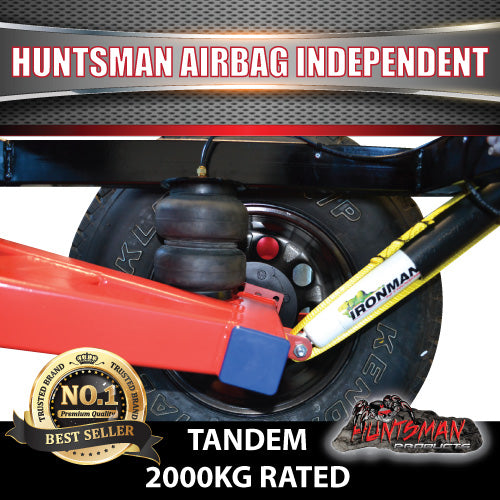 2000KG Tandem Off road Air Bag Independent Suspension
