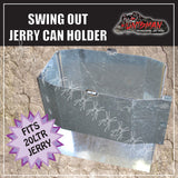 20 LITRE JERRY CAN HOLDER. OPEN FRONT