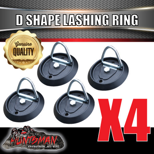 4X Lashing D Ring Tie Down Point & Plastic Guard