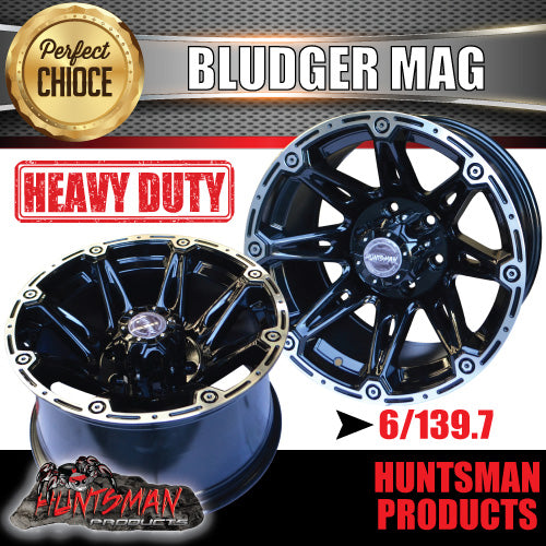 17x9, -12 Offset Bludger Alloy 6/139.7 pcd
