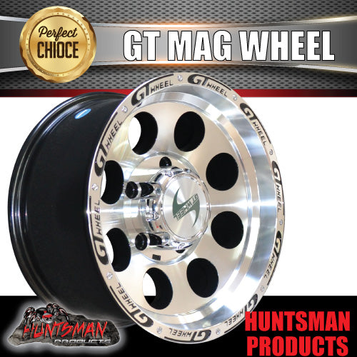 16X8 GT ALLOY MAG WHEEL 4X4 4WD SUITS 5/150 LANDCRUISER 100/200 79 SEIRES LIVE AXLE