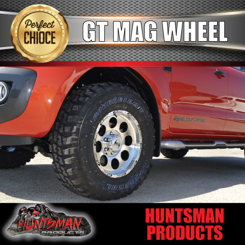 15X8 GT ALLOY MAG WHEEL  6/139.7 pcd,  -20 OFFSET