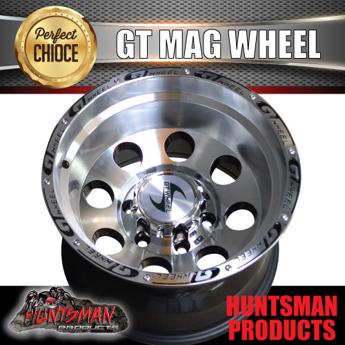 16X10 GT ALLOY MAG WHEEL 4X4 4WD 6/139.7 -44 OFFSET