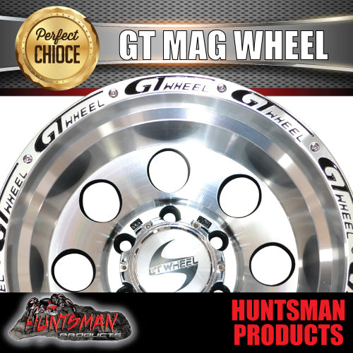 15X10 GT ALLOY MAG WHEEL 4X4 4WD 6/139.7 -44 OFFSET