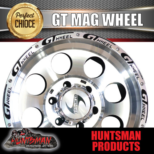 16X8 GT ALLOY MAG WHEEL 4X4 4WD 6/139.7 -20 OFFSET