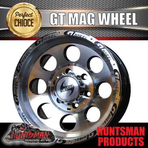 15X8 GT ALLOY MAG WHEEL 4X4 4WD 6/139.7 0 OFFSET